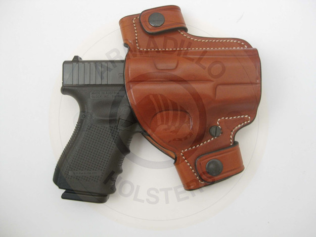 Picture of ARMADILLO TAN BELT HOLSTER FOR GLOCK MODELS