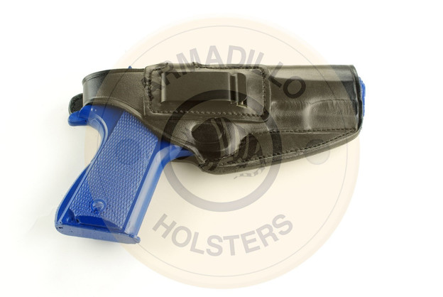 Picture of BLACK LEATHER BELT HOLSTER W/CLIP FOR 1911