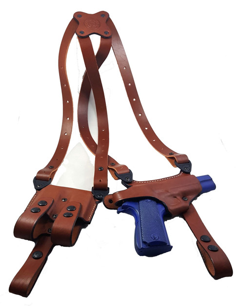 "Picture of Armadillo Holsters Elite Series Shoulder Holster for 5"" or 4"" 1911 models w/out rail"