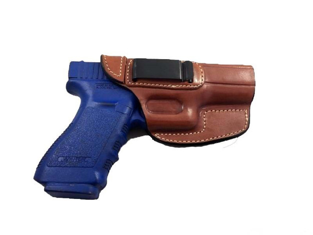 Picture of ARMADILLO HOLSTERS TAN BELT HOLSTER WITH CLIP FOR GLOCK 21