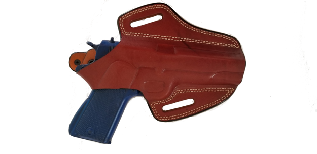 Picture of TAN LEATHER BUTTERFLY HOLSTER W/SNAP FOR 1911