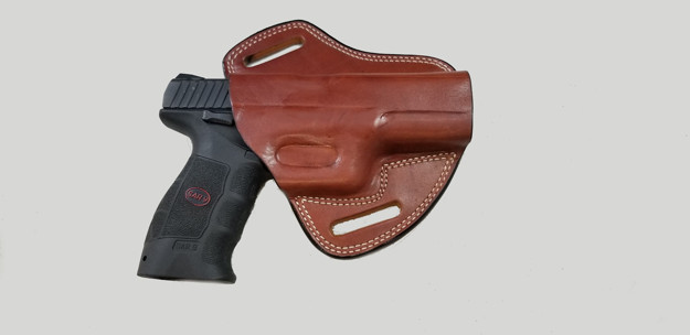 Picture of TAN LEATHER BUTTERFLY HOLSTER SAR9