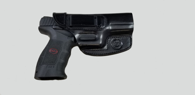 Picture of ARMADILLO HOLSTERS BLACK BELT HOLSTER WITH CLIP FOR SAR9