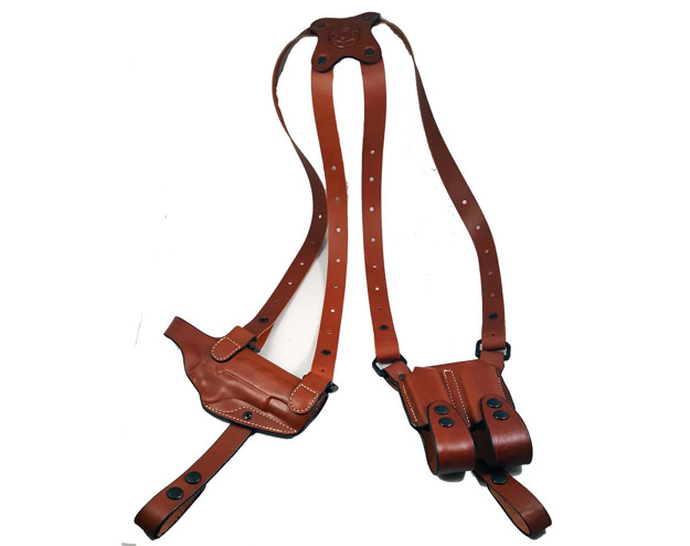 "Picture of Armadillo Holsters Signature Series Shoulder Holster for 5"" or 4"" 1911 models w/out rail"