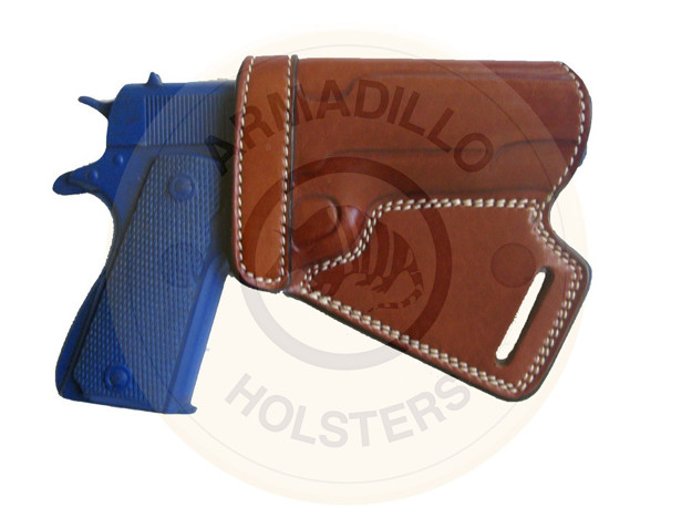 Picture of TAN SMALL OF THE BACK HOLSTER FOR Glock 19
