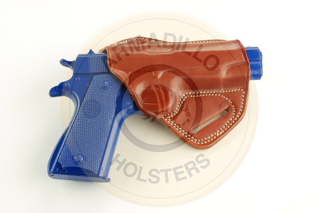 Picture of TAN LEATHER BUTTERFLY HOLSTER FOR Keltec PF9